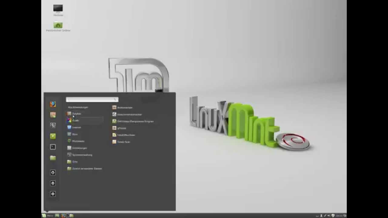 Linux Mint Debian Cinnamon - Ein kleiner Vergleich mit ...