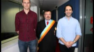 Emperor George II on Nova 969 with Fitzy & Wippa