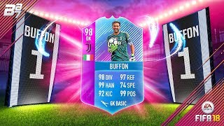 END OF ERA BUFFON SBC COMPLETED! 98 RATED!   FIFA 18 ULTIMATE TEAM