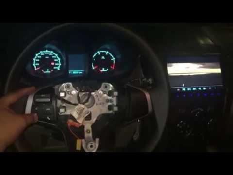 Testing of retrofitted Isuzu DMAX Steering Wheel Audio control in Chevy  Trailblazer 2 8 LT