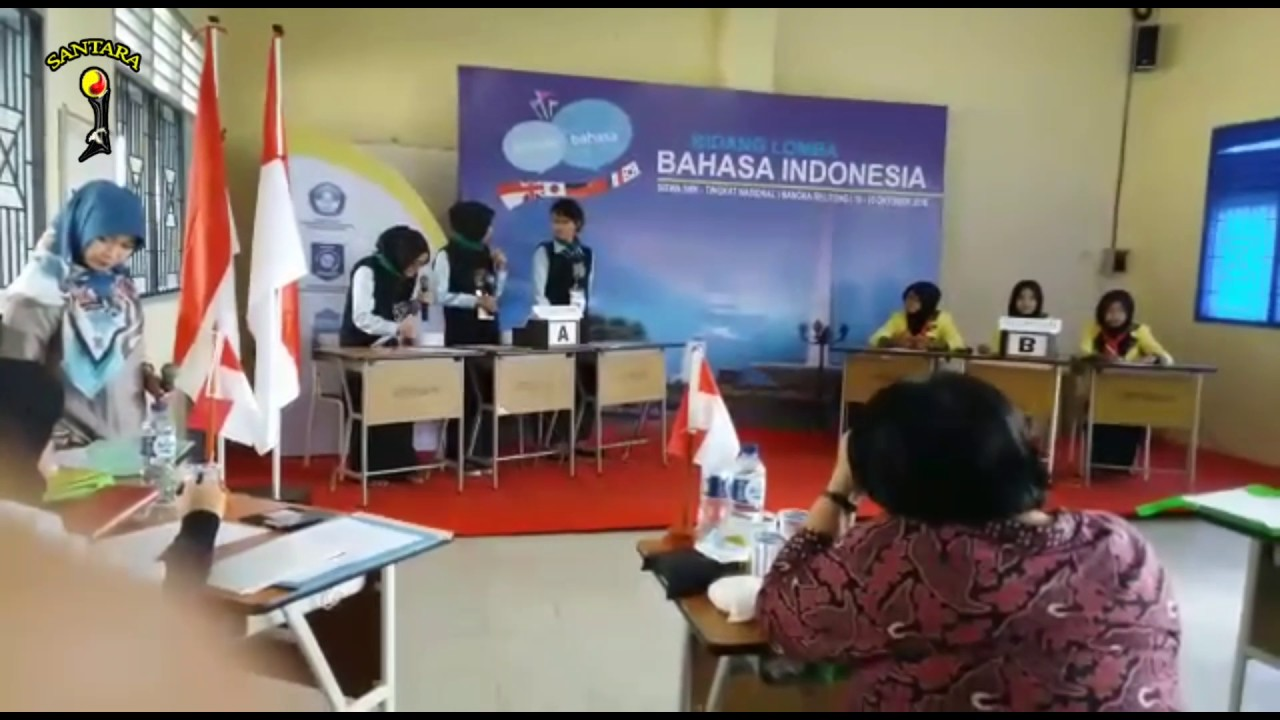 Debat Bahasa Indonesia Tingkat Nasional Youtube