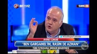 Beyaz Futbol'da 'Şirinler' muhabbeti - 'Ben Gargamel, Rasim Azman!''