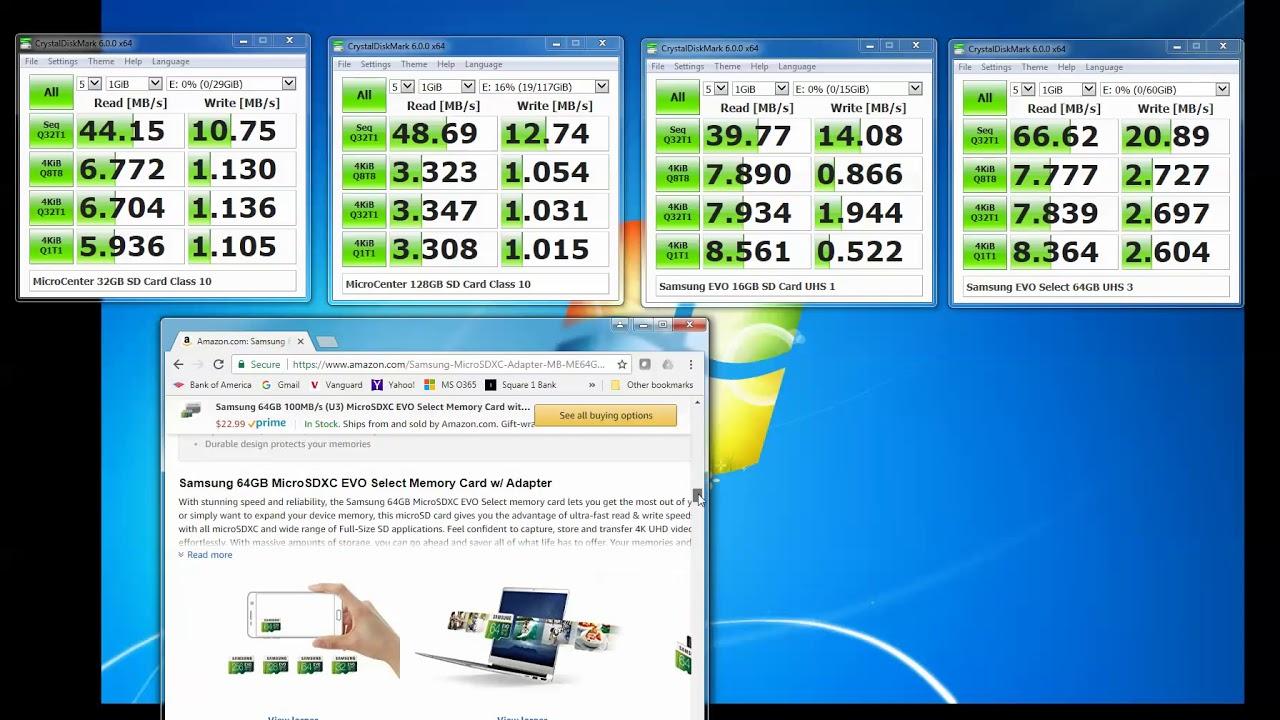 Counterfeit Or Bad Micro Sd Card Samsung Evo Select 64gb Micro Sd Card Review