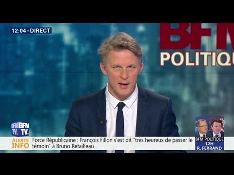 """Force Républicaine: François Fillon """"très heureux de passer le témoin à Bruno Retailleau"""""""