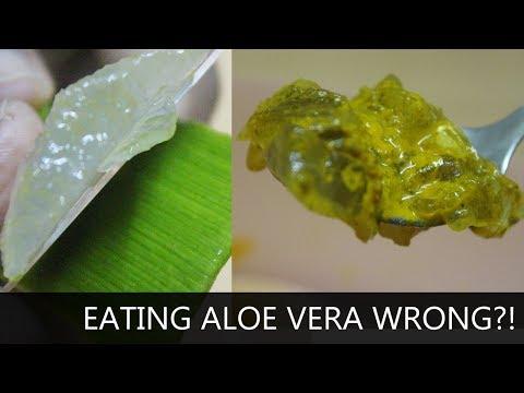 How To Eat Aloe Vera ?