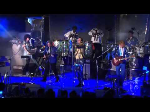 Arcade Fire - We Exist live from Capitol Studios. October 29, 2013.