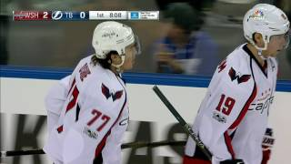 Lightning have no answer for an Ovechkin and Oshie rush
