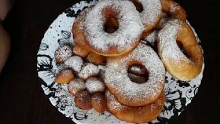 Очень вкусные пончики/Donuts