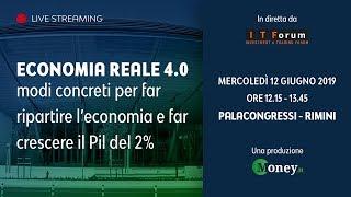Economia reale 4.0: modi concreti per far ripartire l'economia e far crescere il Pil del 2%