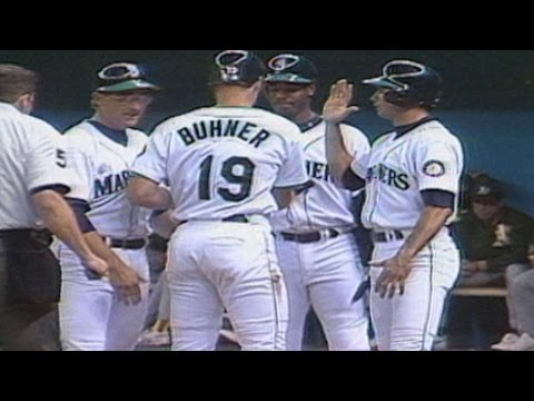 Jay Buhner blasts a grand slam