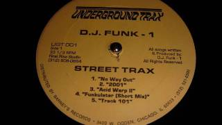 Repeat youtube video Underground Trax   D.J.  FUNK - 1