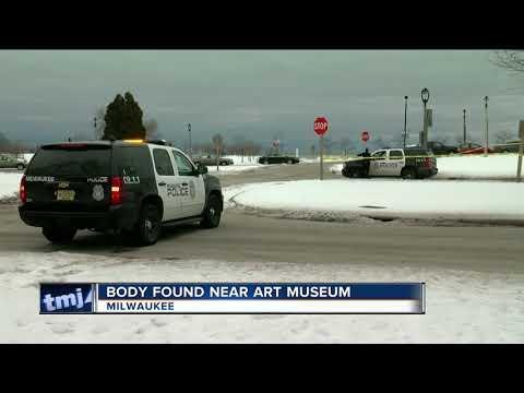 Police investigate body found near art museum