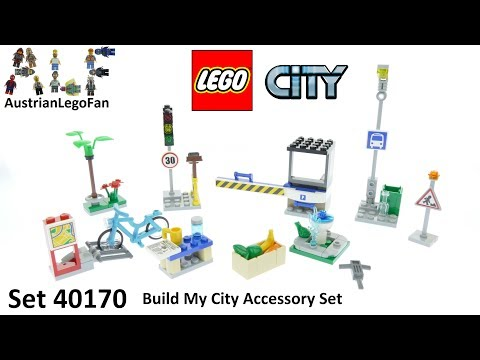 Lego City 40170 Build My City Accessory Set - Lego Speed Build Review