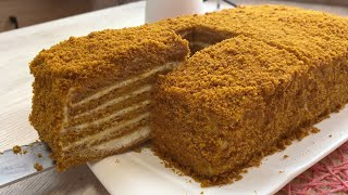 Энг осон усулда юмшоқ Асалли торт тайёрлаш МЕДОВИК за 30 минут Идеальный рецепт Медовика