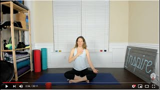 Hand To Heart Regulating Yoga To Start Your Day - Friday, April 24th