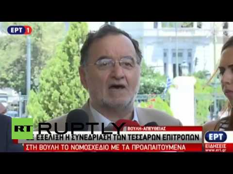 "Greece: Energy Minister Lafazanis will say NO to ""terrorist"" memorandum"