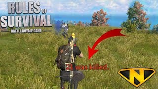 Fighting Everything! (Rules of Survival: Battle Royale)