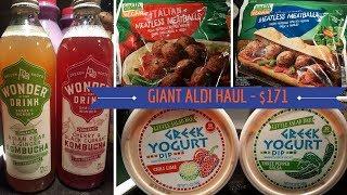 Aldi Haul - GIANT $171 - Produce, Vegan, Staples