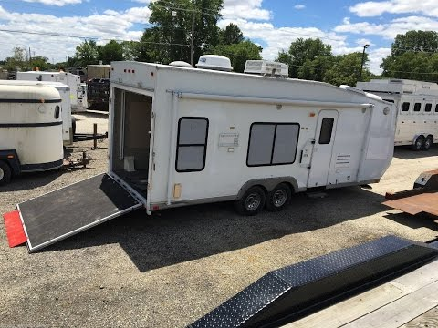 Thor Tahoe LightHauler 22 FB Toy Hauler  camper trailer  Generator + lots of extras 8560 Sold