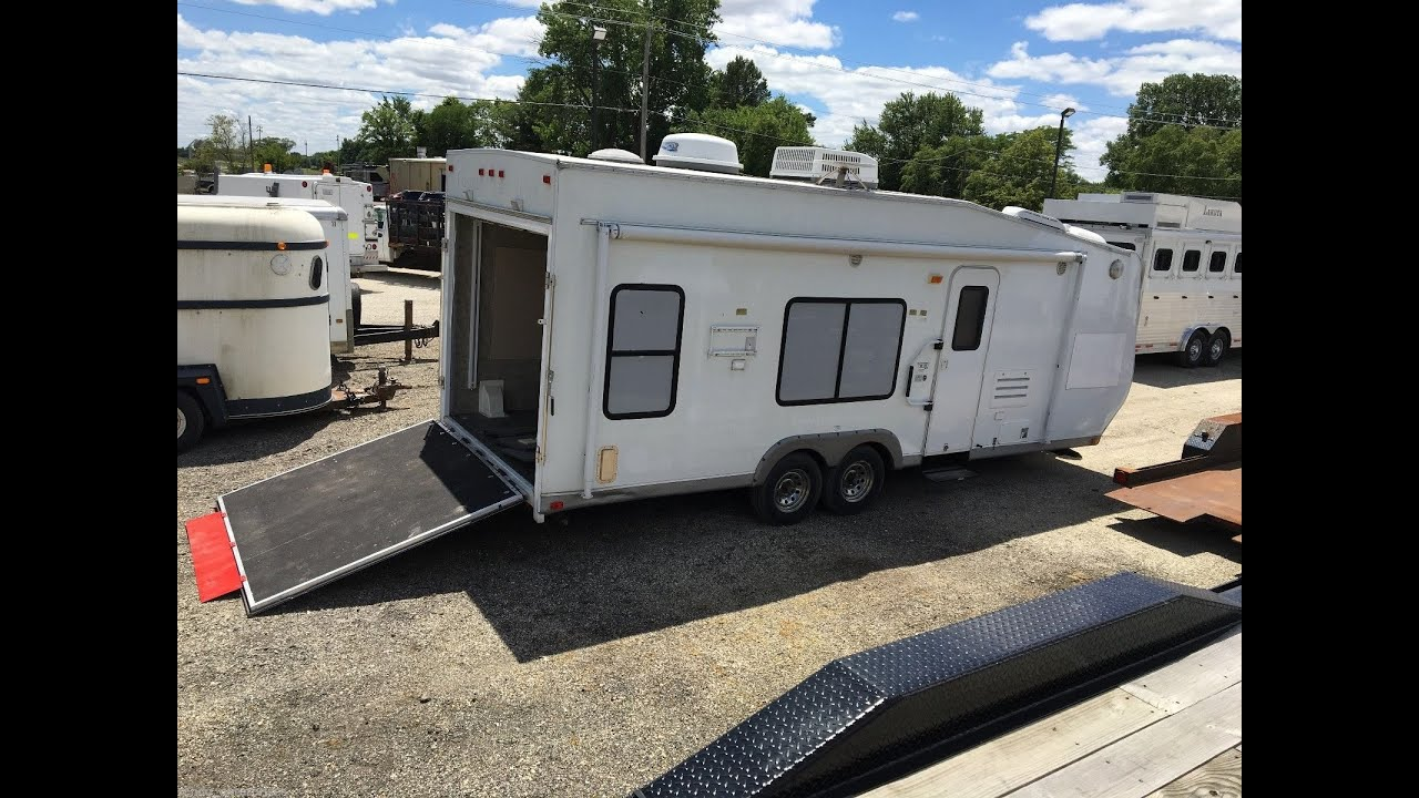 Car Hauler Camper For Sale