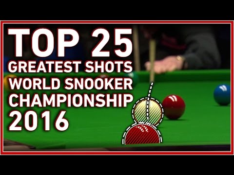 TOP 25 GREATEST SHOTS World Snooker Championship 2016 ᴴᴰ