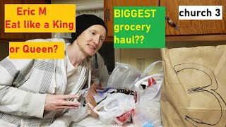 CHURCH 3 free food grocery haul food bank eat like a king low income disabled unemployed no money