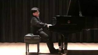 Liszt Consolation No 3 in D flat major by George Li (13 yr)