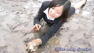 Muddy treasure hunting & baseball practice