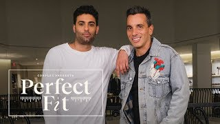 Sebastian Maniscalco Hilariously Runs Through The Barney's New York Clothing Racks | Perfect Fit