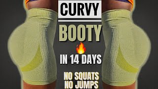 BEST GLUTE FOCUS EXERĊISES TO GROW THICK BOOTY In 10 mins | CURVY BUTT IN 14 DAYS At Home