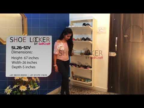 Metal Shoe Rack (Free Installation in Major Cities)