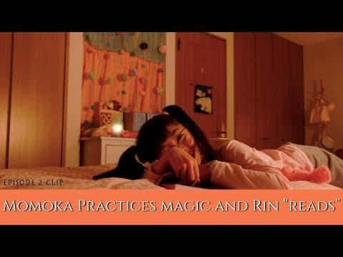 MagiMajo Pures Episode 2 Clip | Momoka Practices Magic And Rin