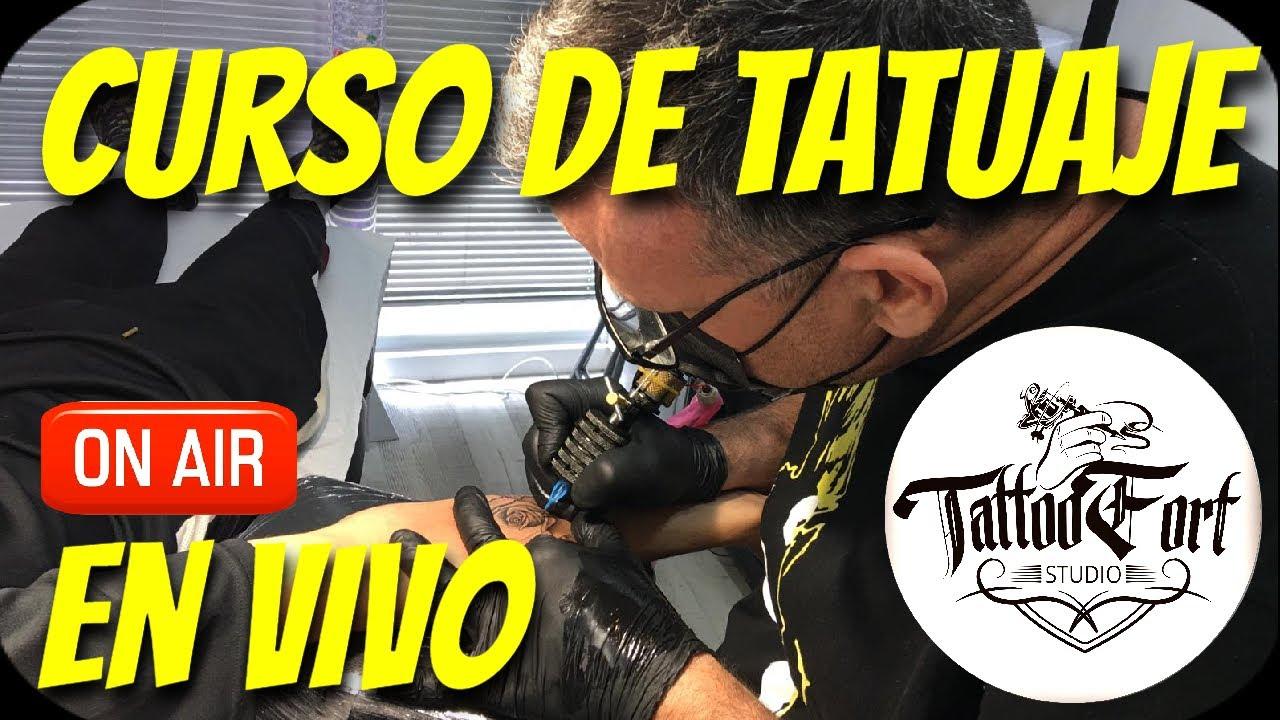 CURSO GRATIS DE TATUAJE EN VIVO (Tattoo Fort )