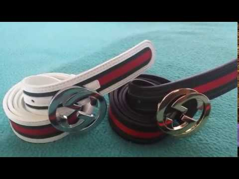 4f78690bcce IOFFER GUCCI BELT REVIEW HOW TO SPOT A FAKE - YouTube