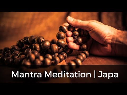 Mantra Meditation, Japa Mala erklärt von Ananda Krishna