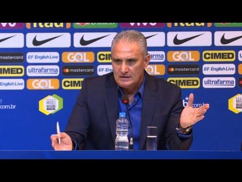 afpbr: Tite convoca e fala sobre frustração da Copa