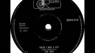 The Who - When I Was A Boy