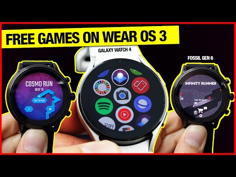 Wear OS FREE Games - Awesome! {Fossil Gen 5}
