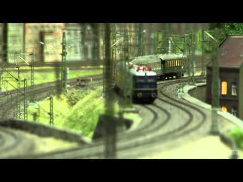 Model Railroad Layout about the Coal and Steel Industry of Germany in HO scale