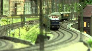 Model Railway about Coal and Steel Industry in H0 Scale