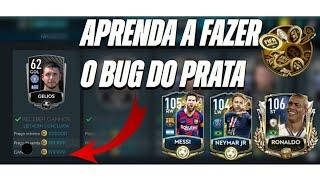 Fique MILIONÁRIO no Fifa Mobile  - BUG BOMBÁSTICO DOS PRATA