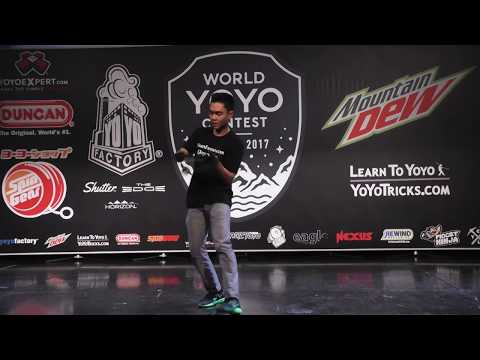 Evan Nagao - 1A Final - 6th Place - World Yoyo Contest 2017