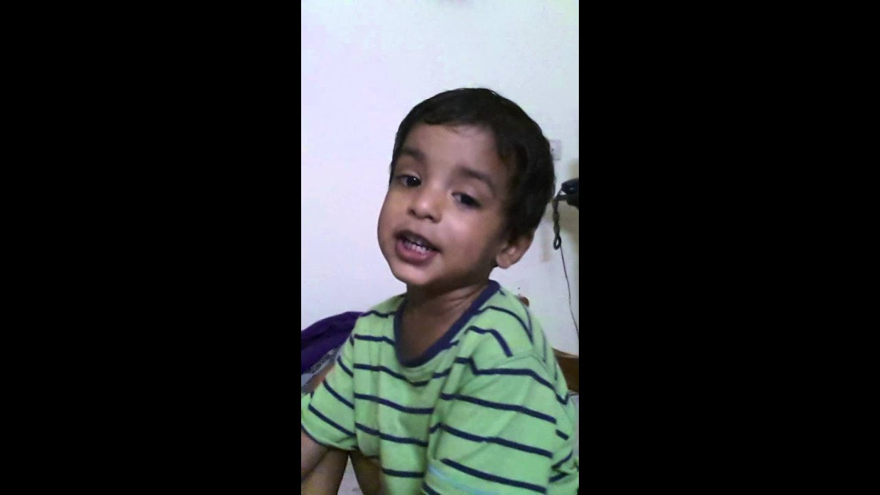 Kerala Cute Baby's Malayalam Rhyme