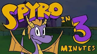 Spyro the Dragon EVERY GAME in 3 Minutes | ArcadeCloud