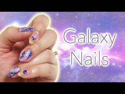 Japanese Dollar Store (百均) Nail Art & Review | Galaxy Nails ♡