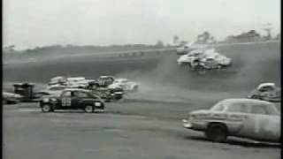 The Largest and Most Famous NASCAR crash in History