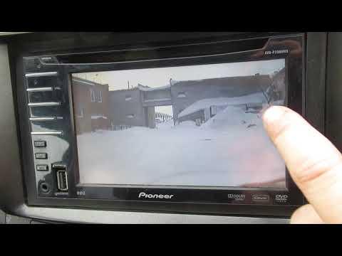 Pioneer AVH-P3100DVD Одновременное воспроизведение музыки и видео