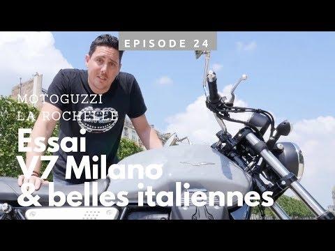 Ep. 24 Bellissima Guzzi et le Zarco show au GP de France chez Track Motor à La Rochelle
