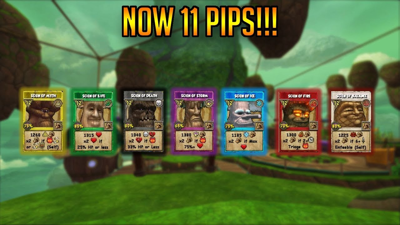 WIZARD101: UPDATED SCION SPELLS! (MY THOUGHTS)