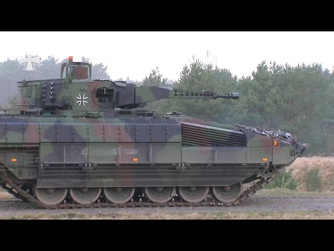 German Armed Forces - Puma Infantry Fighting Vehicle Live Firing [1080p]